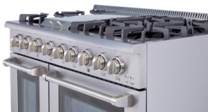 how to clean a range oven